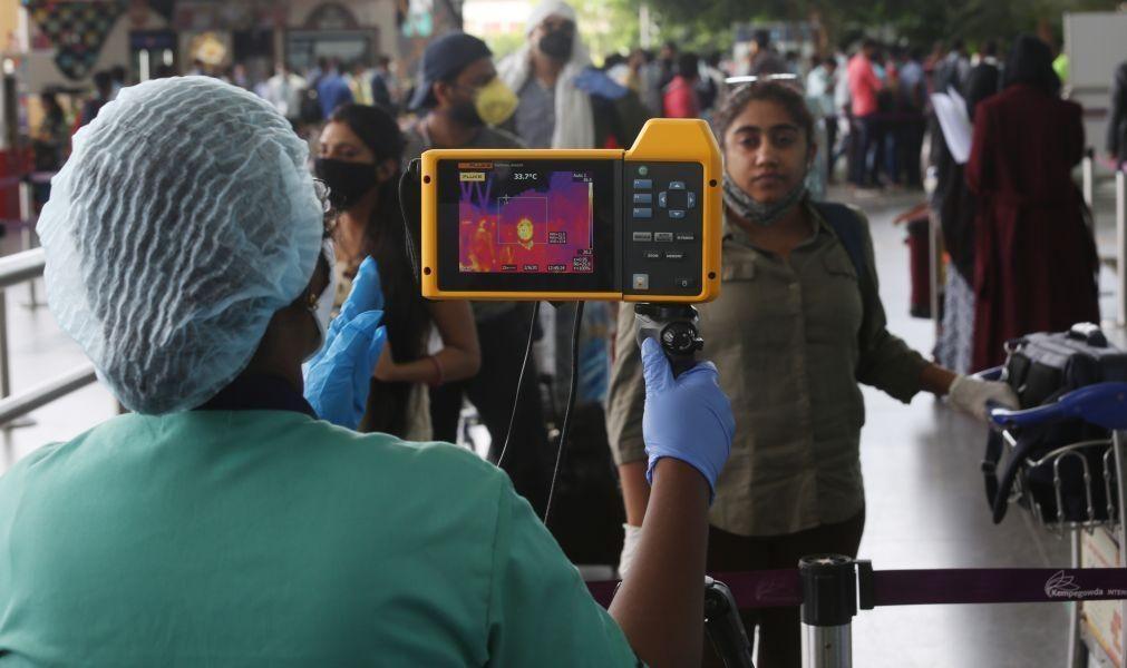 Índia regista recorde de infetados, quase dez mil num só dia
