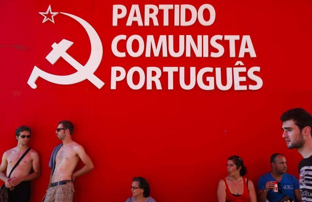 Covid-19: PCP é primeiro partido a retomar comícios, ao ar livre, em Lisboa