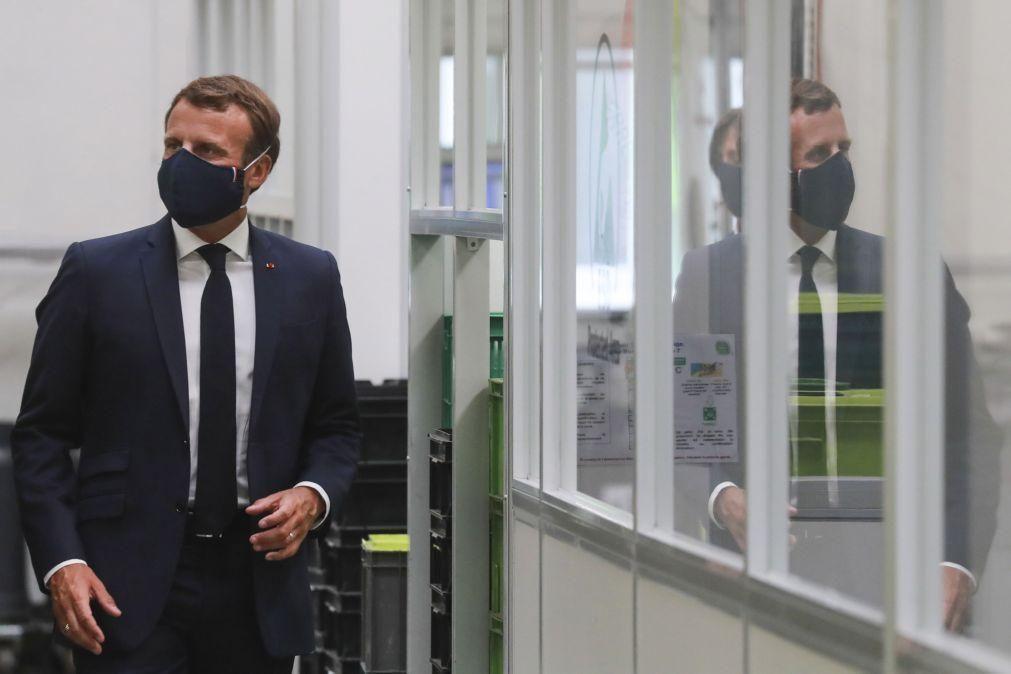Macron pede novamente a libertação da investigadora presa no Irão