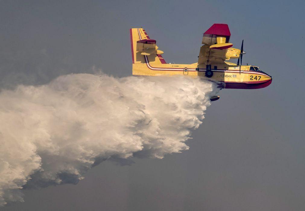 Incêndios: UE reforça frota de meios aéreos do mecanismo de proteção civil
