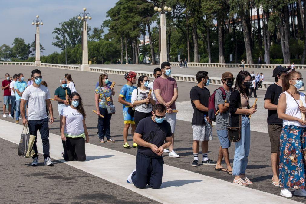 Covid-19: Pequenos grupos estão a reagendar peregrinações ao Santuário de Fátima