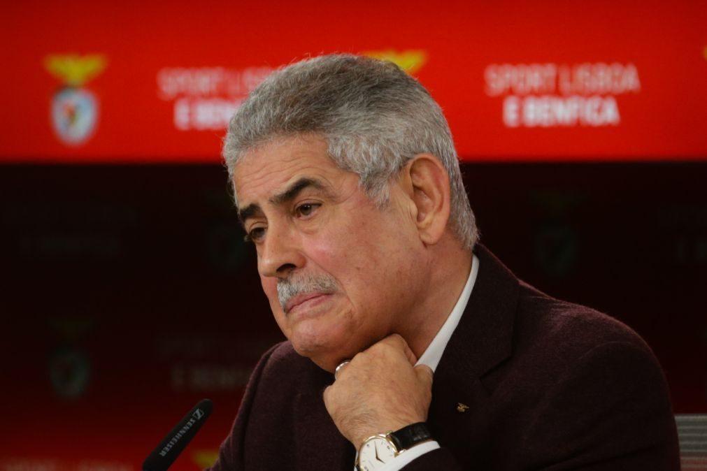 Presidente do Benfica pede