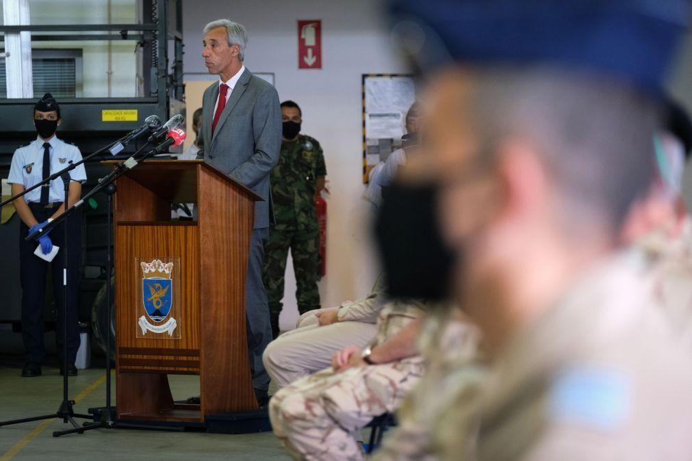 Covid-19: Ministro da Defesa garante participação portuguesa em missões de paz apesar da pandemia