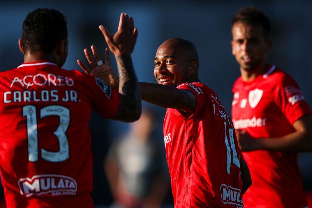 Santa Clara vence Sporting de Braga com golo nos descontos