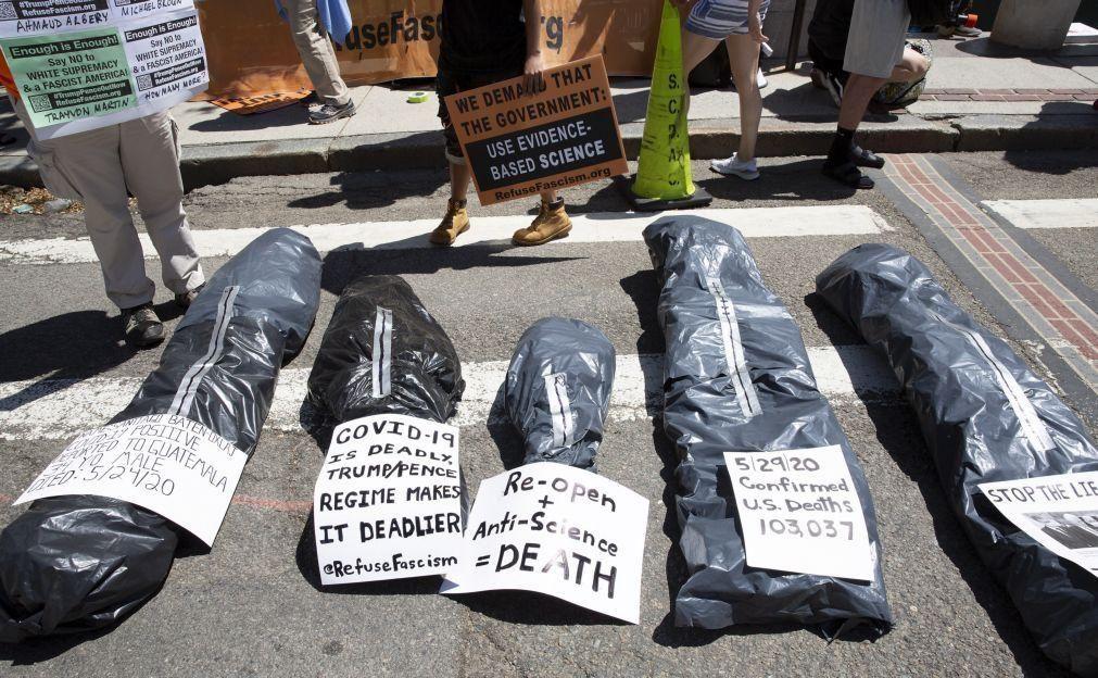 Covid-19: EUA registam 922 mortos nas últimas 24 horas