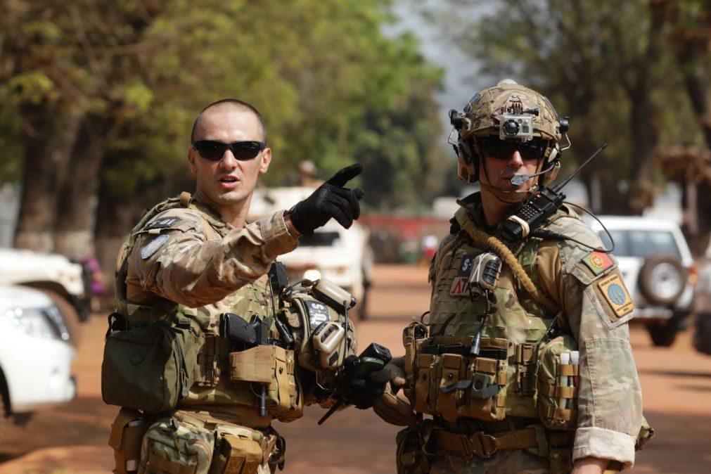 RCA: Militares portugueses regressam a Bangui após operação de paz noutra região