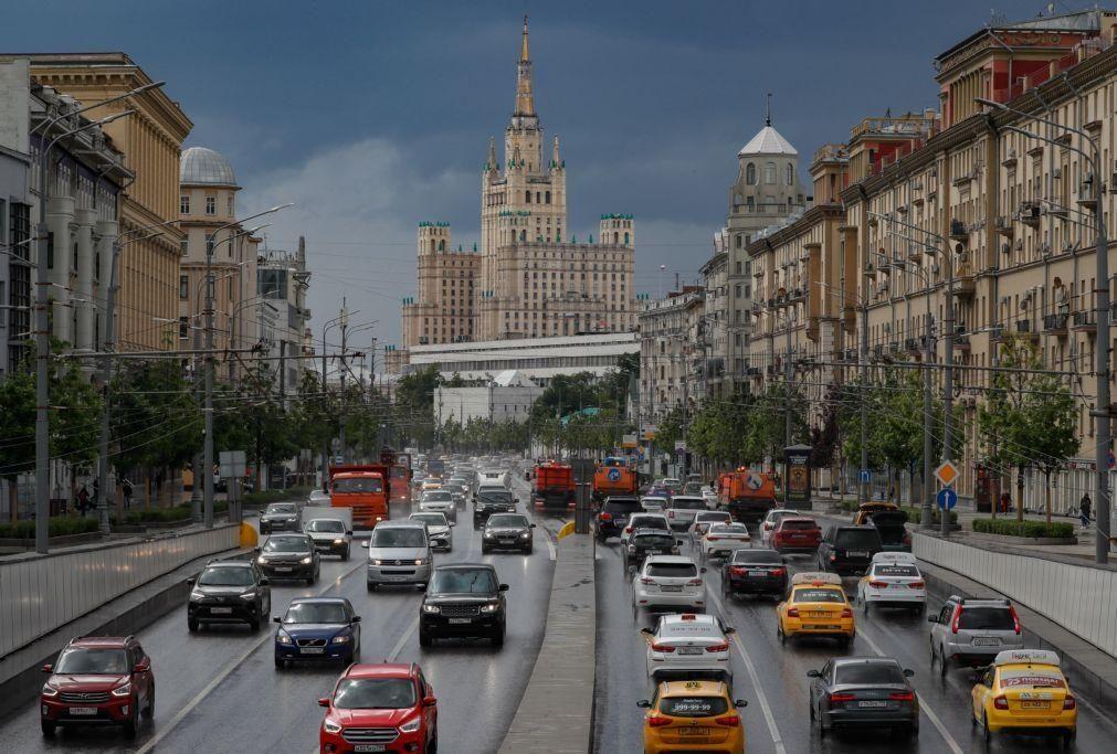 Covid-19: Rússia com mais 197 mortes e mantém número de infeções estável