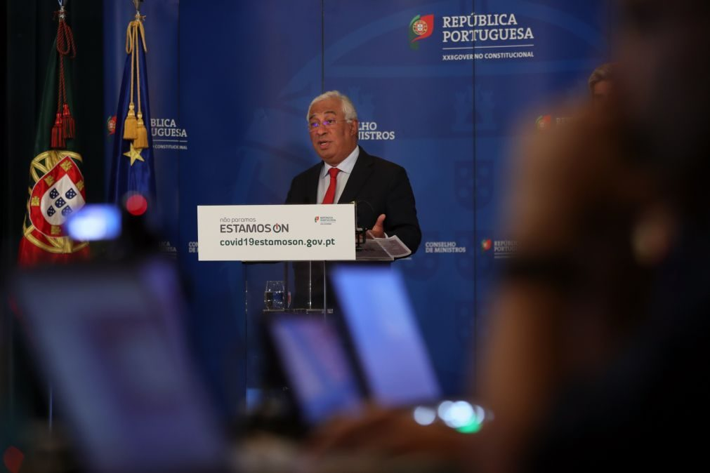 Covid-19: Costa pede a portugueses que saiam com segurança em semana de feriados