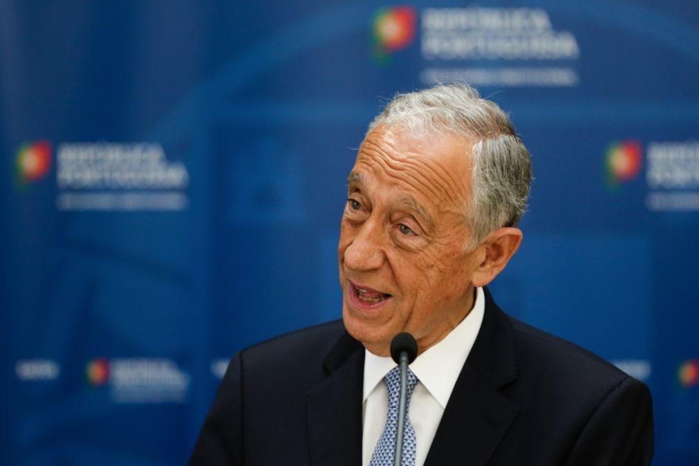 Nem facilitismo nem alarmismo, pede Marcelo