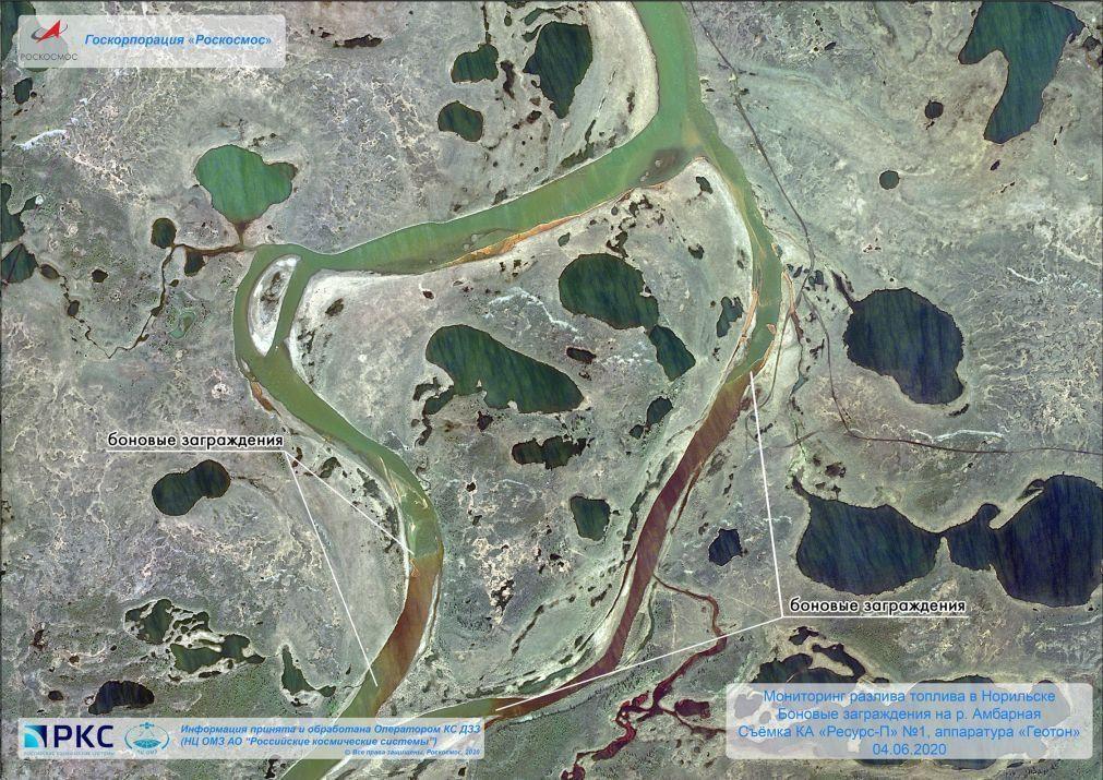 Estados Unidos oferecem ajuda à Rússia para despoluição de um rio no Ártico