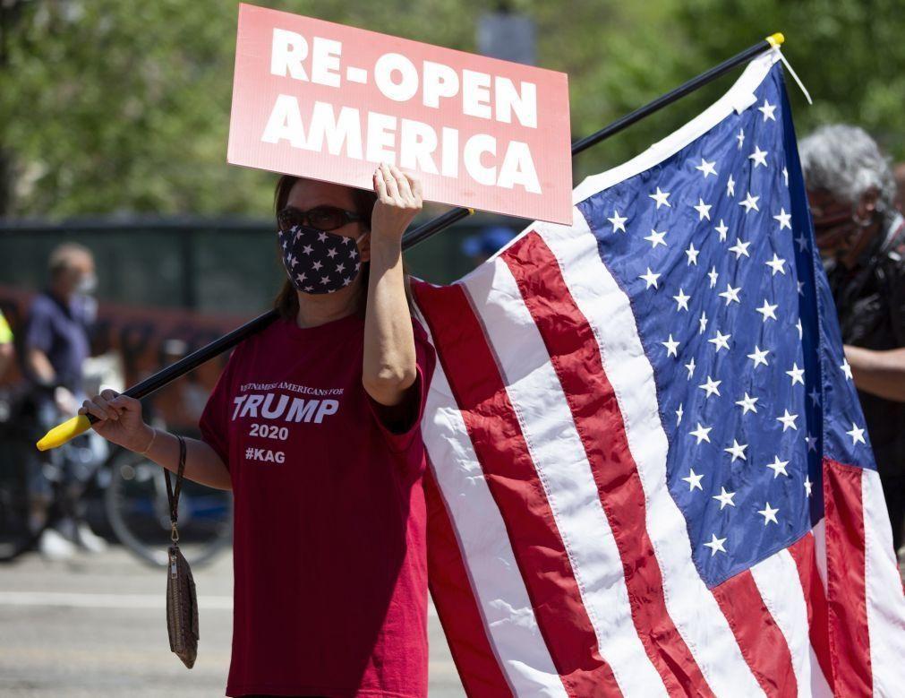 Covid-19: EUA registam 749 mortos nas últimas 24 horas
