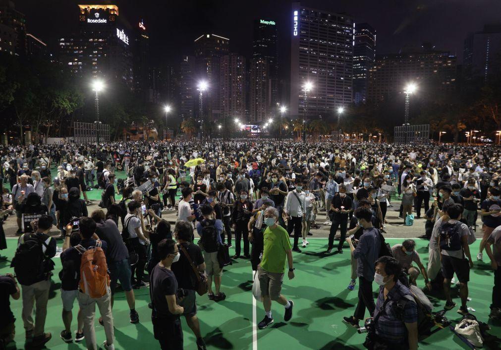 Hong Kong: Movimento pró-democracia promete manter luta um ano após protestos