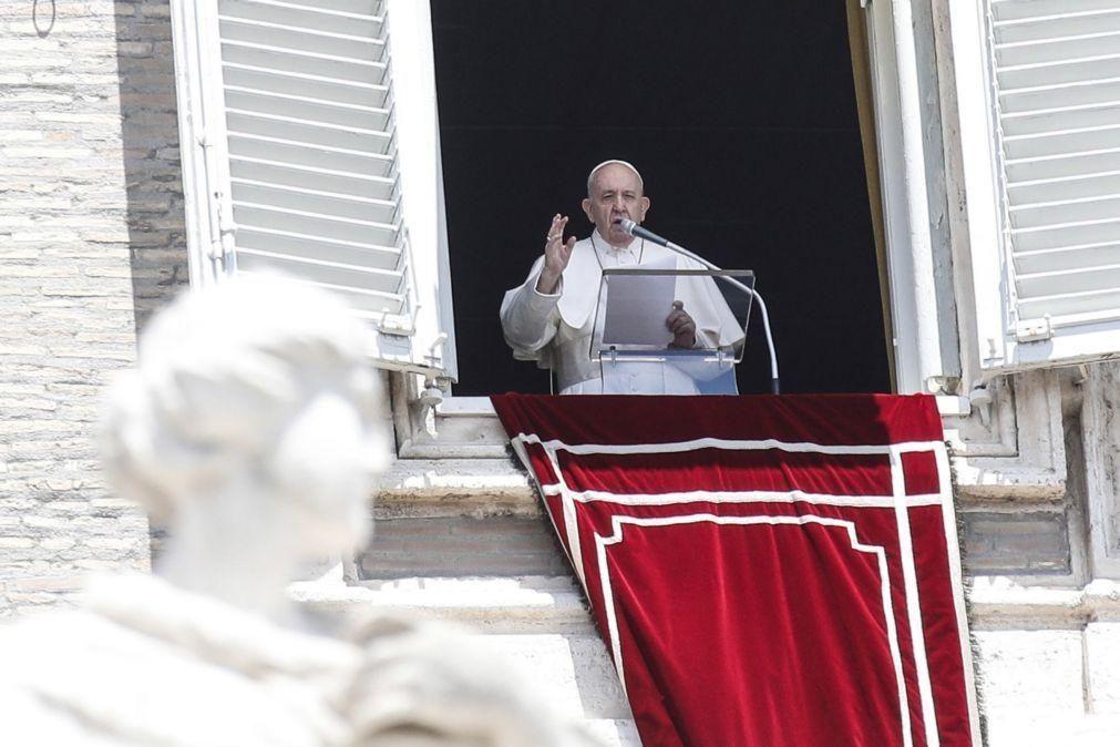 Covid-19: Papa Francisco diz que Itália