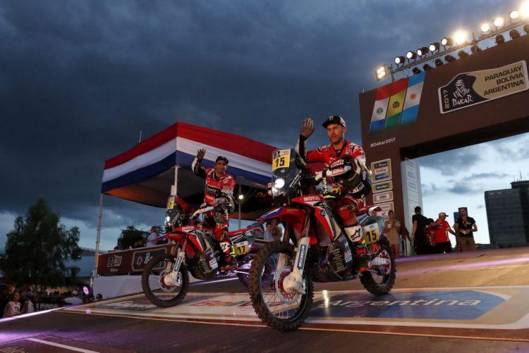 Dakar2017: Paulo Gonçalves quinto nas motos na primeira etapa