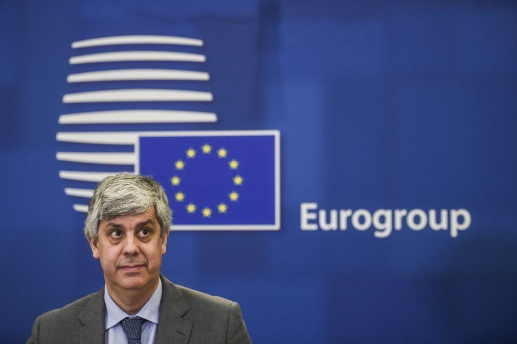 Centeno lança hoje 'corrida' à sua sucessão na presidência do Eurogrupo