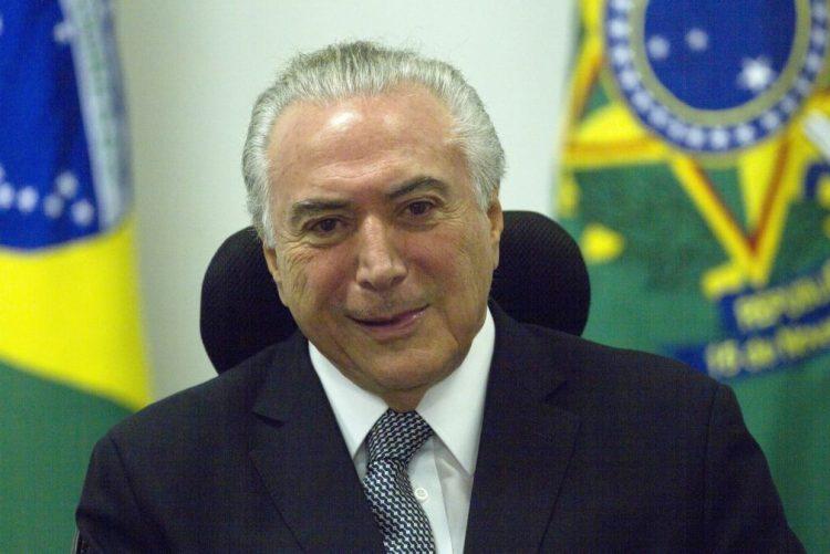 Escândalo de suborno faz Presidente do Brasil cancelar agenda