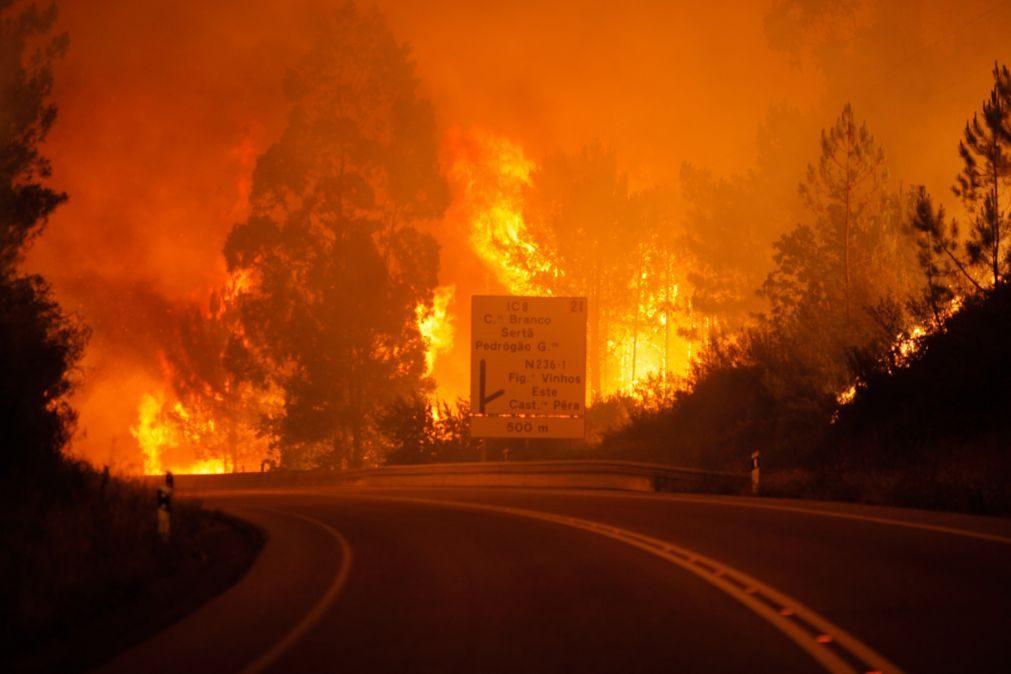 Incêndio de Pedrógão Grande que matou 66 pessoas aconteceu há três anos