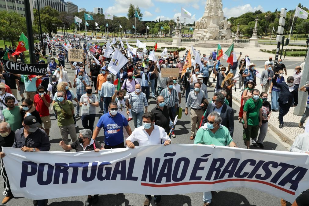 SOS Racismo acusa Chega de promover o contrário do desfile para negar o racismo