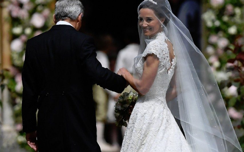 Casamento de Pippa Middleton O vestido de noiva