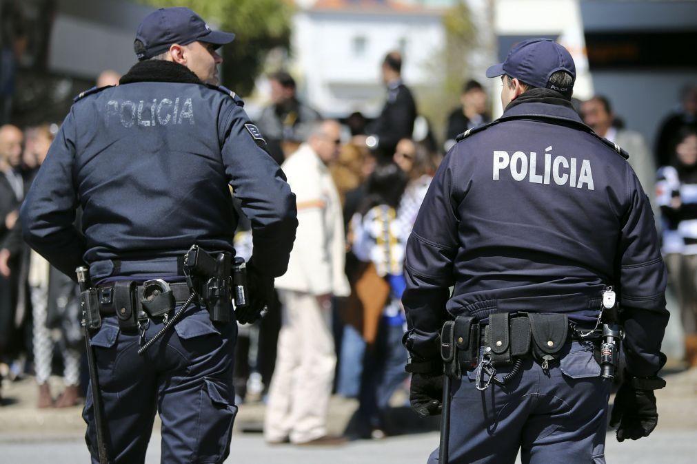 PSP de Lisboa deteve 26 pessoas em 24 horas