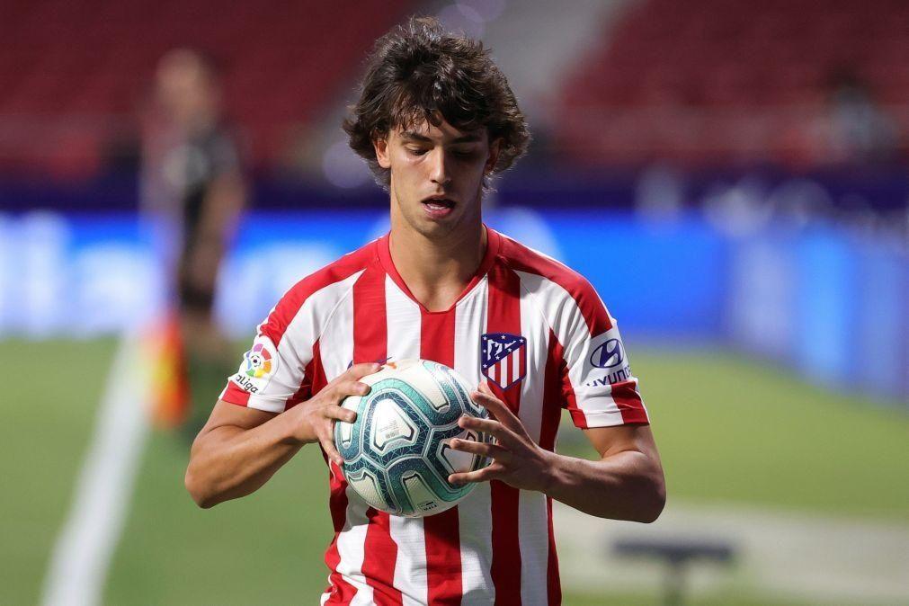 João Félix tem edema ósseo e falha jogo do Atlético de Madrid
