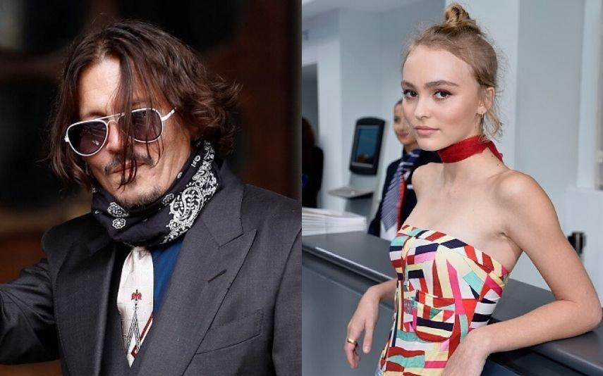 Johnny Depp admite ter dado drogas à filha quando esta tinha 13 anos