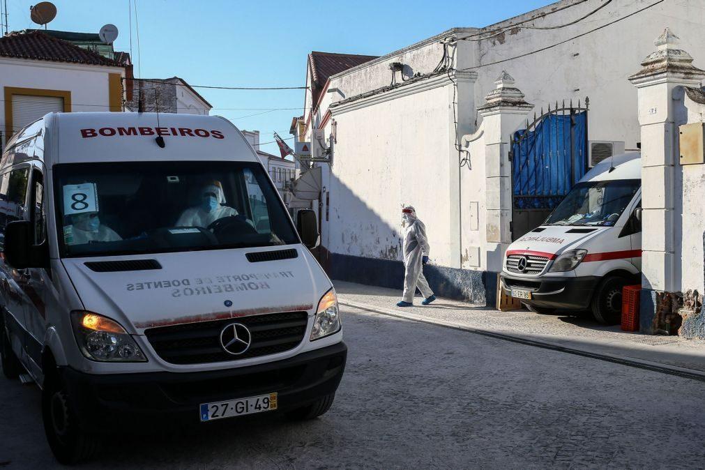 Número de mortes em Reguengos de Monsaraz sobe para 15