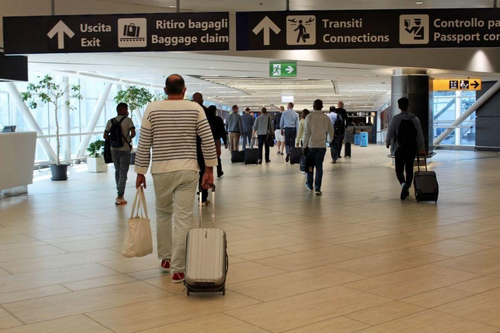 Covid-19: Itália proíbe a entrada a viajantes do Brasil e de 12 outros países