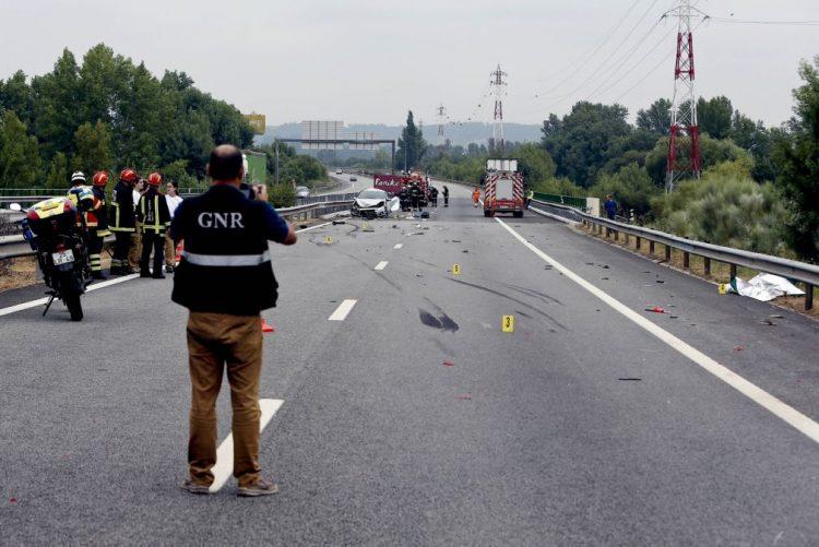 Operação Ano Novo da GNR registou 658 acidentes, com 7 mortos e 8 feridos graves