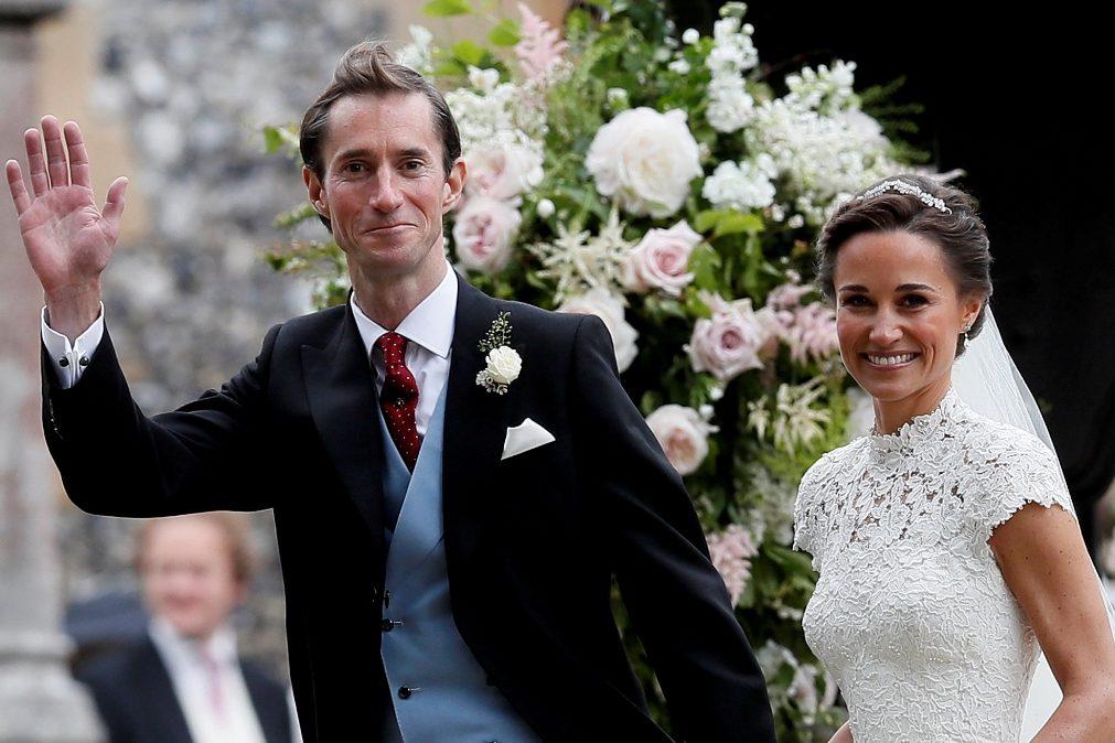 Pippa Middleton e James Matthews partem em lua-de-mel de luxo