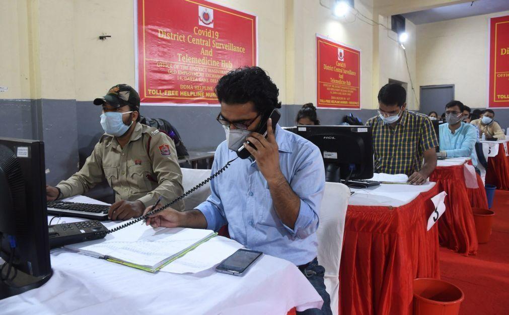 Covid-19: Índia regista novo máximo diário de infeções e eleva casos para quase 850.000