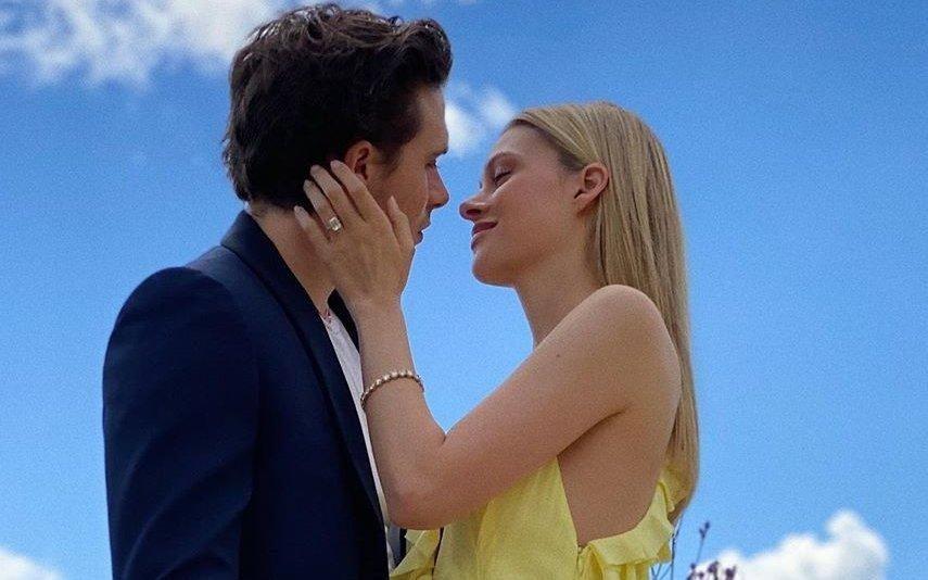Filho mais velho de David e Victoria Beckham está noivo
