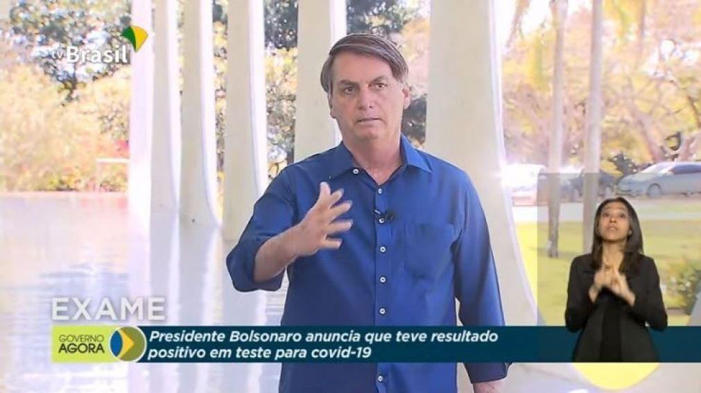 Bolsonaro com resultado negativo em teste à covid-19