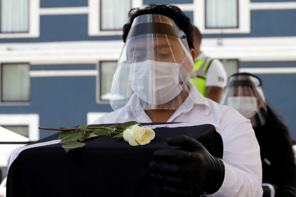 Covid-19: México regista 485 mortos e 4.685 novos casos nas últimas 24 horas
