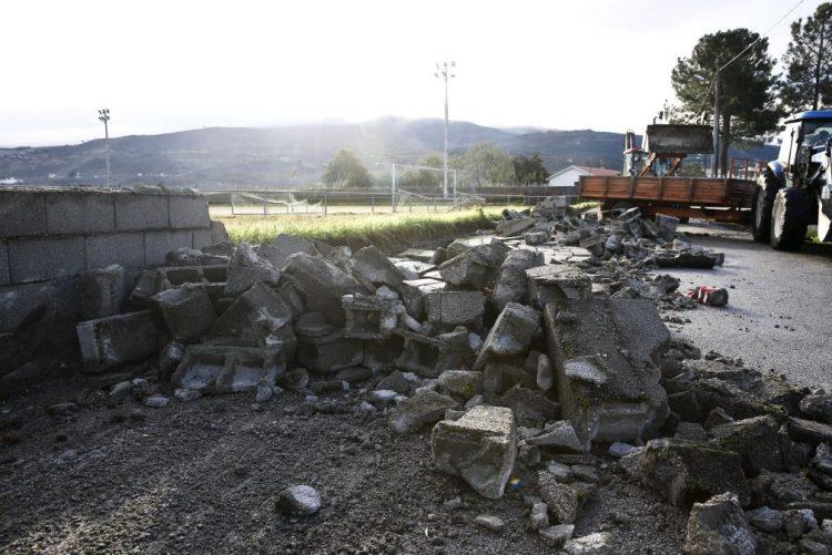 Vento forte causou danos em nove habitações de aldeia de Gouveia