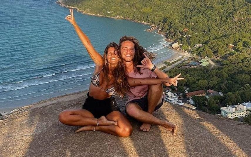 Vitor Kley fala sobre a relação à distância com Carolina Loureiro