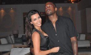 Kim Kardashian e Kanye West estão separados mas ela não quer aceitar fim do casamento