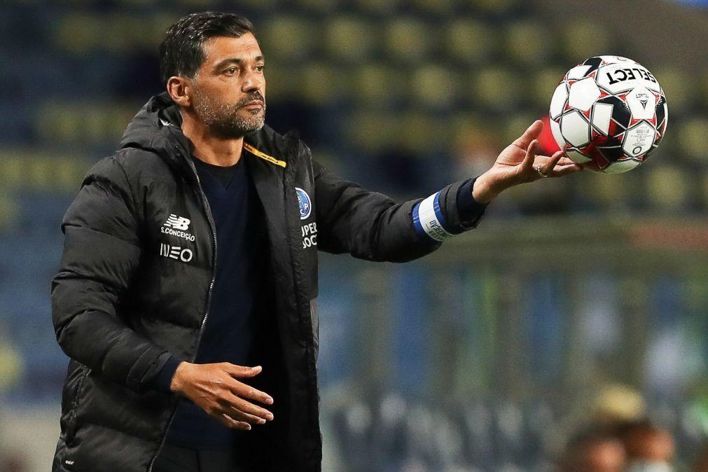 Sérgio Conceição sem poupanças para Taça de Portugal frente ao Sporting de Braga