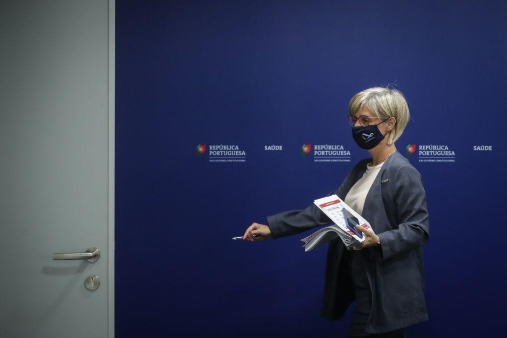 Covid-19: Ministra da Saúde aponta