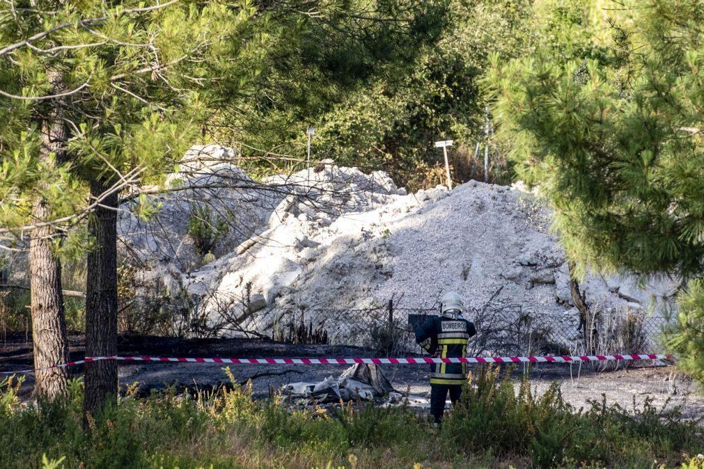 Queda de ultraleve em Leiria que provocou dois mortos deveu-se a erro dos pilotos