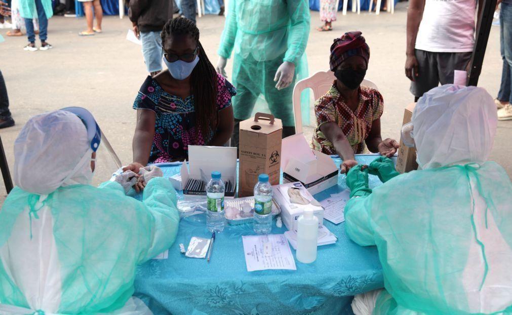 Covid-19: São Tomé e Príncipe regista 111 novos casos positivos e totaliza 860 infeções