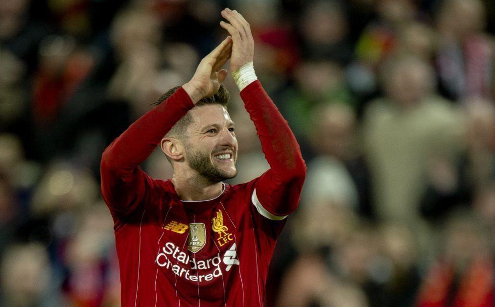 Adam Lallana deixa o Liverpool ao fim de seis épocas no clube
