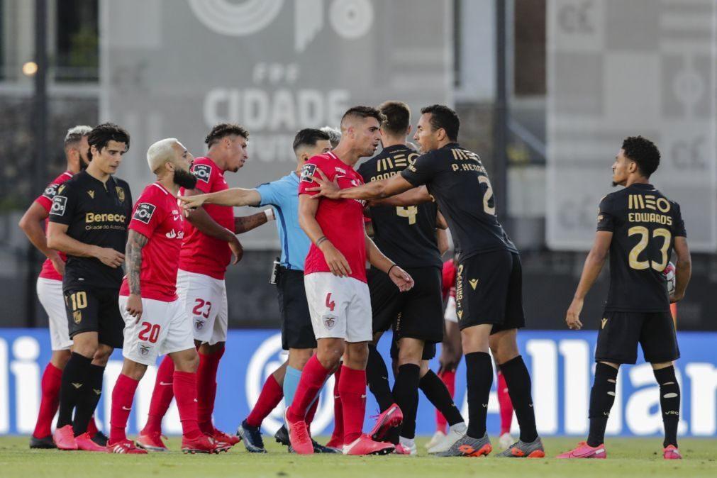 Santa Clara e Vitória de Guimarães despedem-se do campeonato com empate