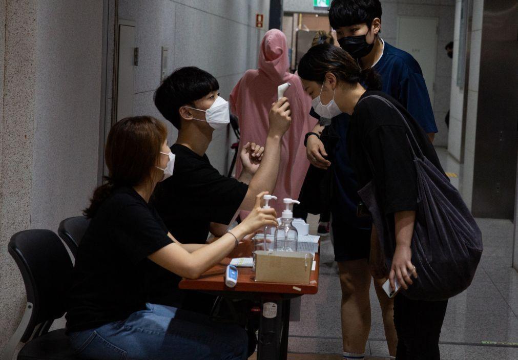 Covid-19: Coreia do Sul regista 113 novos casos, a quase totalidade importados