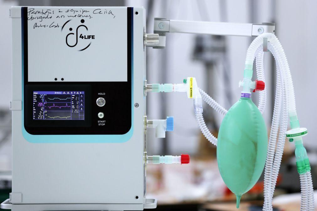 Diretor do CEiiA diz que apenas versão 2 do ventilador será submetida a certificação CE