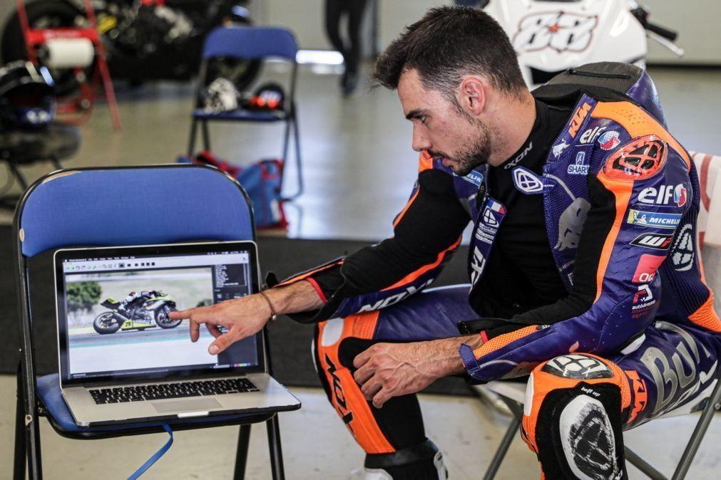 Miguel Oliveira com melhor qualificação de sempre em MotoGP, ao ser quinto na Andaluzia