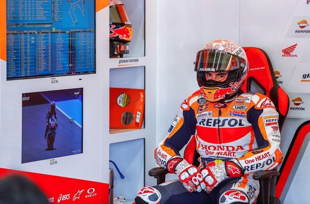 Campeão Marc Márquez falha GP da Andaluzia devido a lesão no braço