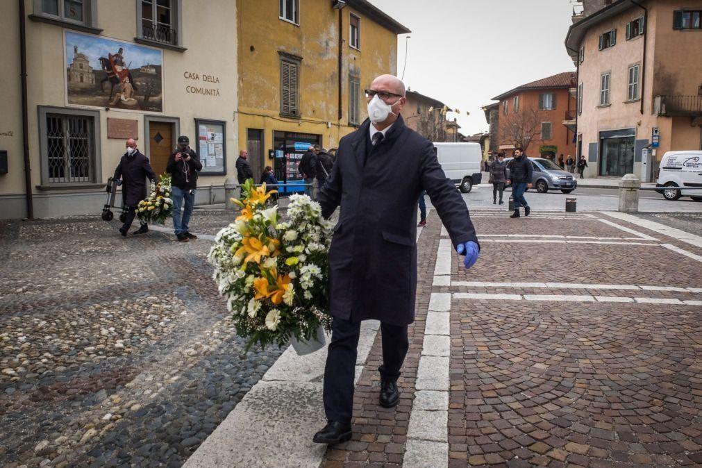 Covid-19: Itália regista mais cinco mortes e mantém tendência estacionária