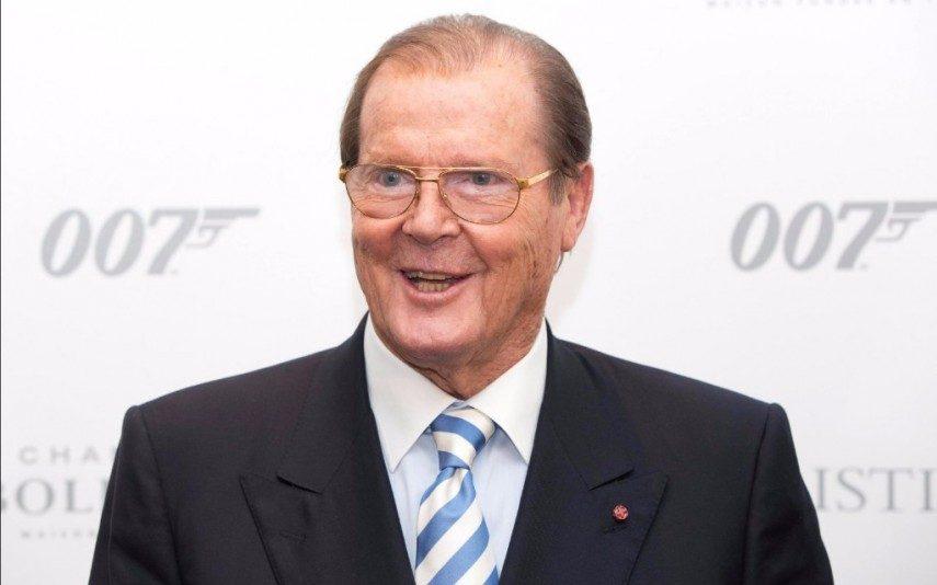 Roger Moore Morreu o eterno James Bond