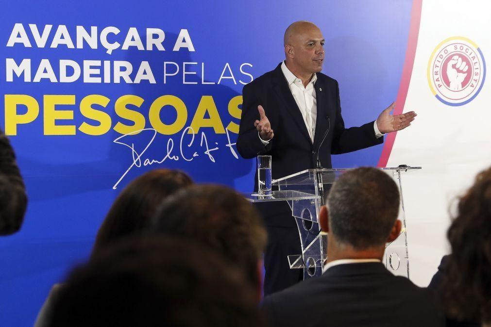 Cafõfo eleito novo líder do PS/Madeira aposta na